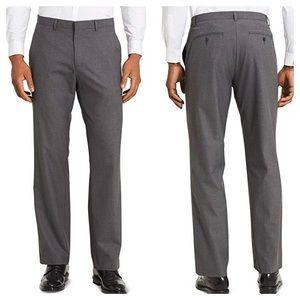 Calvin Klein slim fit Trouser pants Sz 34x32 Gray